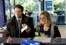 Seth Rogen and Barbara Streisand in The Guilt Trip