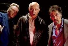 Christopher Walken, Alan Arkin and Al Pacino in Stand Up Guys