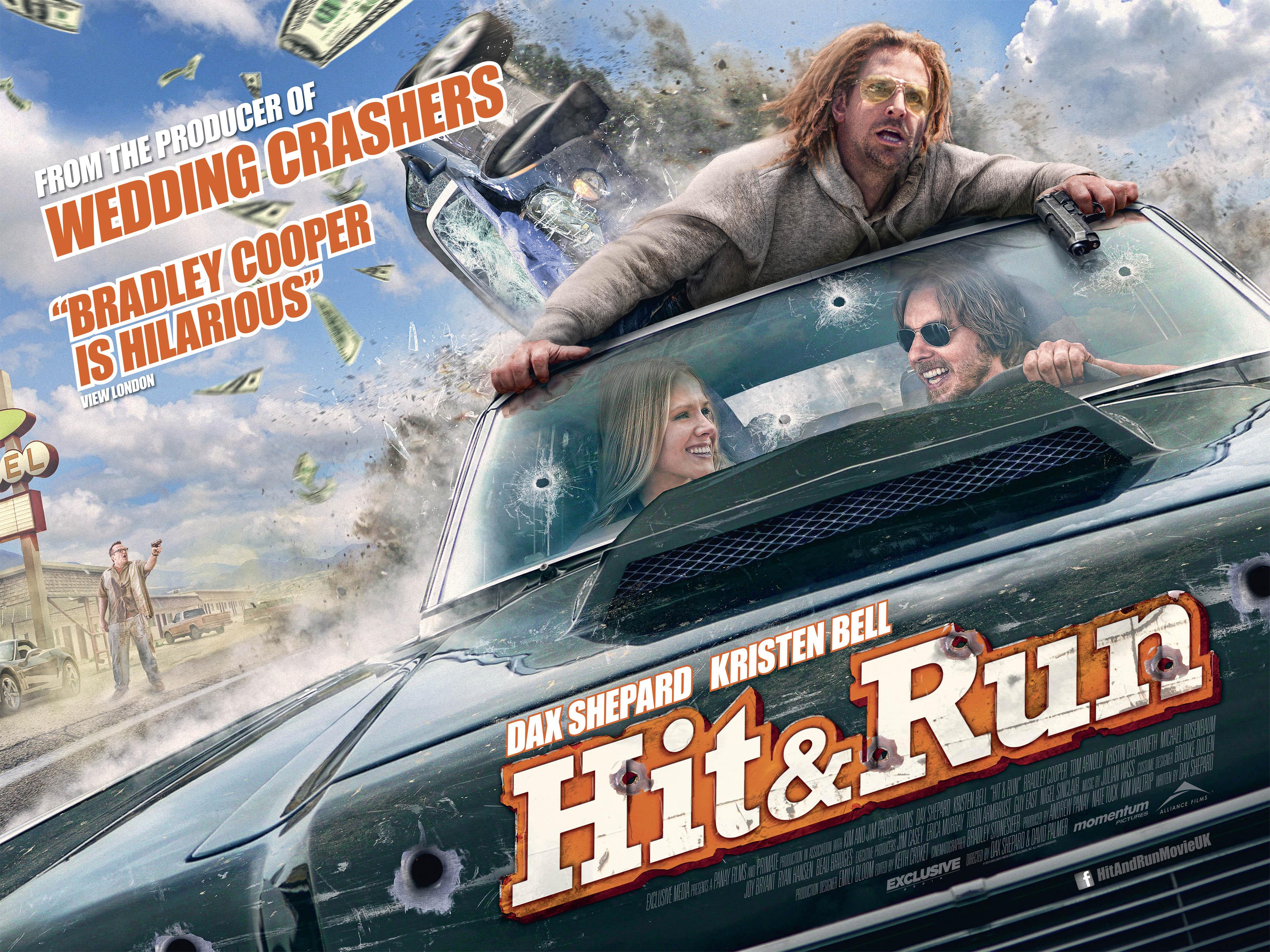 Hit and Run UK Poster