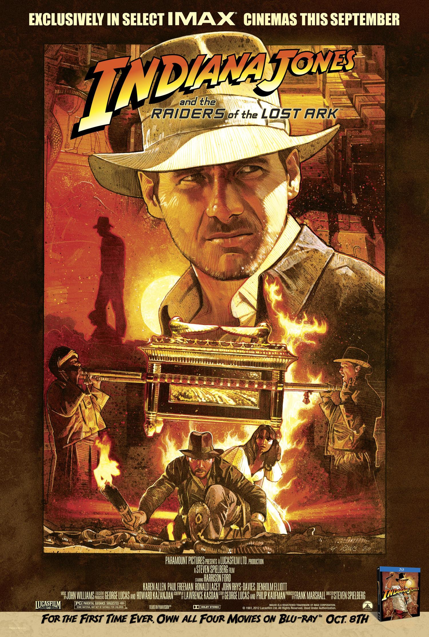 Indiana Jones     Raiders Of The Lost Ark UK PosterRaiders Of The Lost Ark