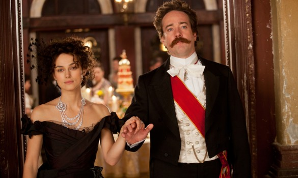 Keira Knightley and Matthew Macfadyen in Anna Karenina