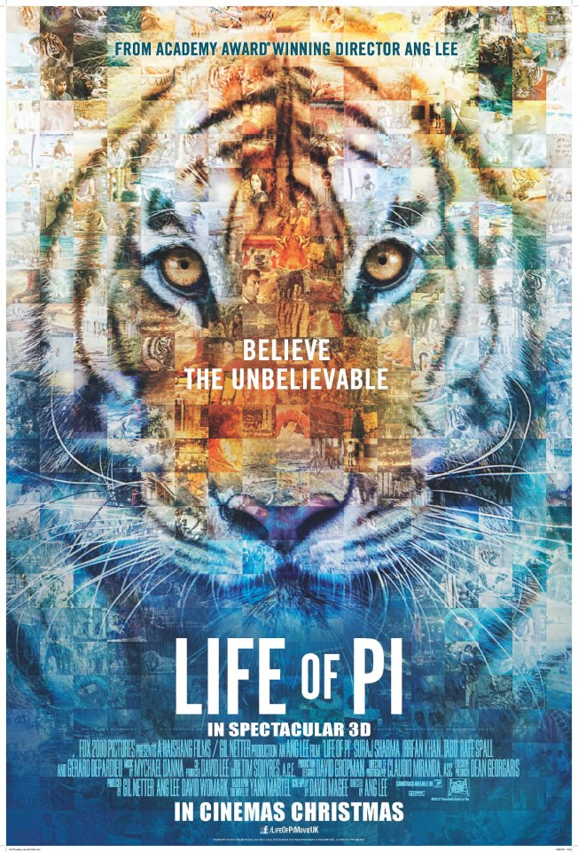 Life-of-Pi-UK-PosterLife Of Pi Book