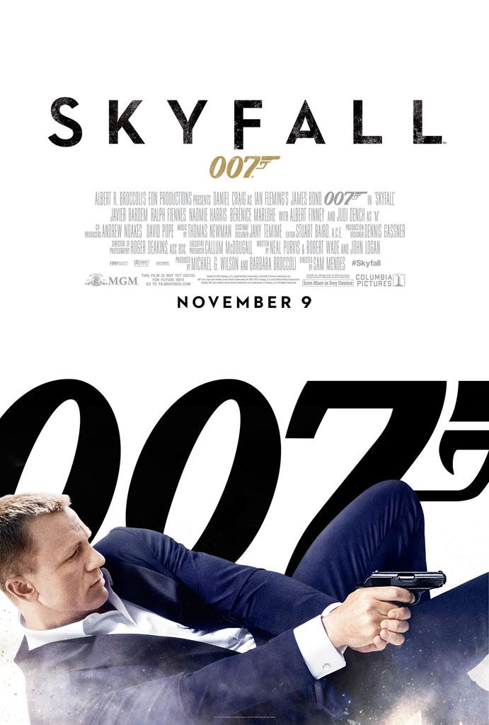 Skyfall US Poster