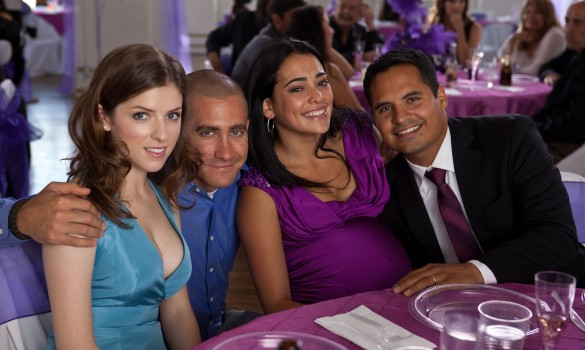 Anna Kendrick, Jake Gyllenhaal, Natalie Martinez and Michael Peña in End of Watch