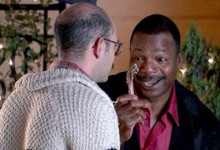 David Cross and Carl Weathers in Arrested Development