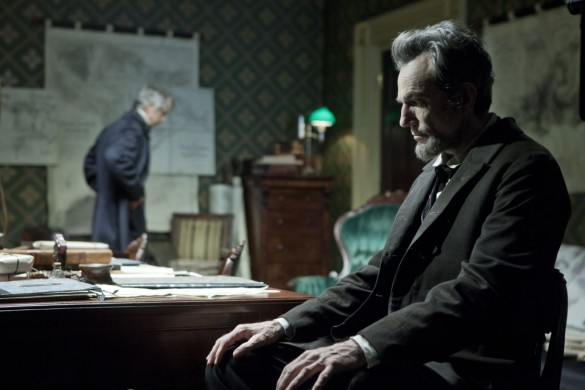 David Straithairn and Daniel Day-Lewis in Lincoln