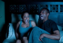 Essence Atkins and Marlon Wayans in A Haunted House