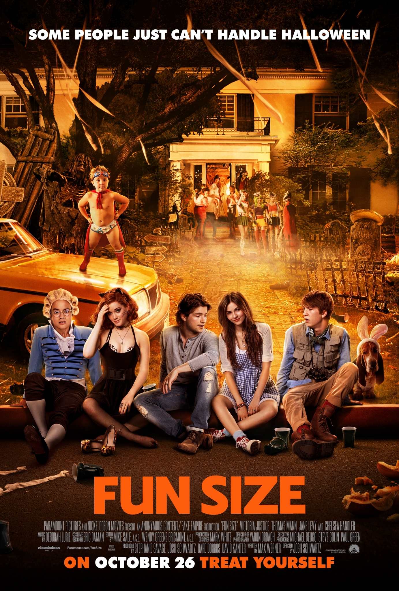 Fun Size Poster - HeyUGuys