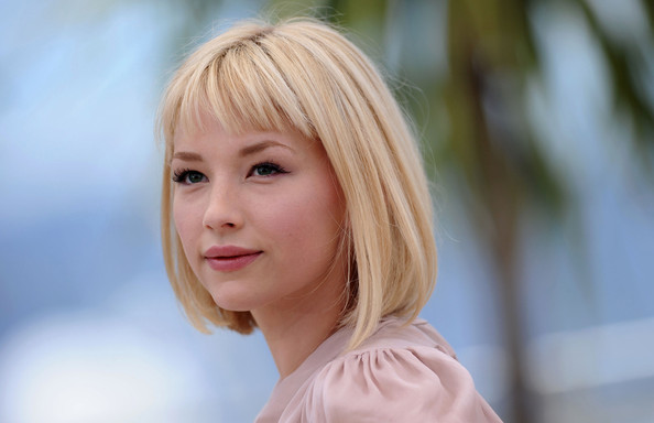 Haley Bennett joins Kirsty Haley Bennett 2012