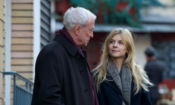 Michael Caine and Clémence Poésy in Mr. Morgan's Last Love