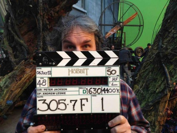 Peter Jackson proudly shows off Slate 305.7F