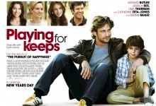 Playing for Keeps UK Quad Poster