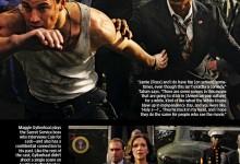 Channing Tatum, Jamie Foxx, and Maggie Gyllenhaal in White House Down