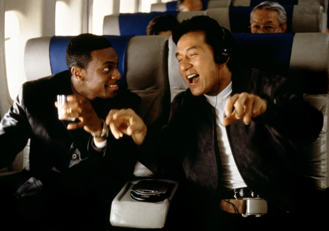 Chris Tucker and Jackie Chan in Rush Hour - HeyUGuys