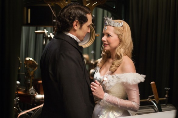 James Franco and Michelle Williams in Oz: The Great and Powerful