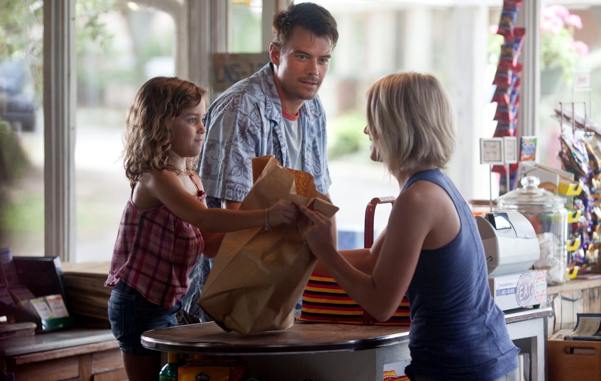 Mimi Kirkland, Josh Duhamel and Julianne Hough in Safe ...