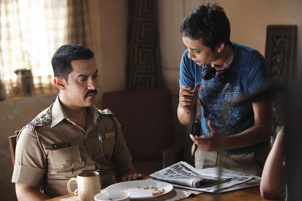 Reema Kagti and Aamir Khan shot from Talaash