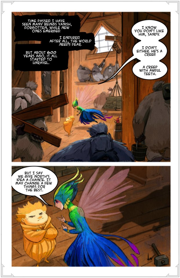 rise of the guardians story art
