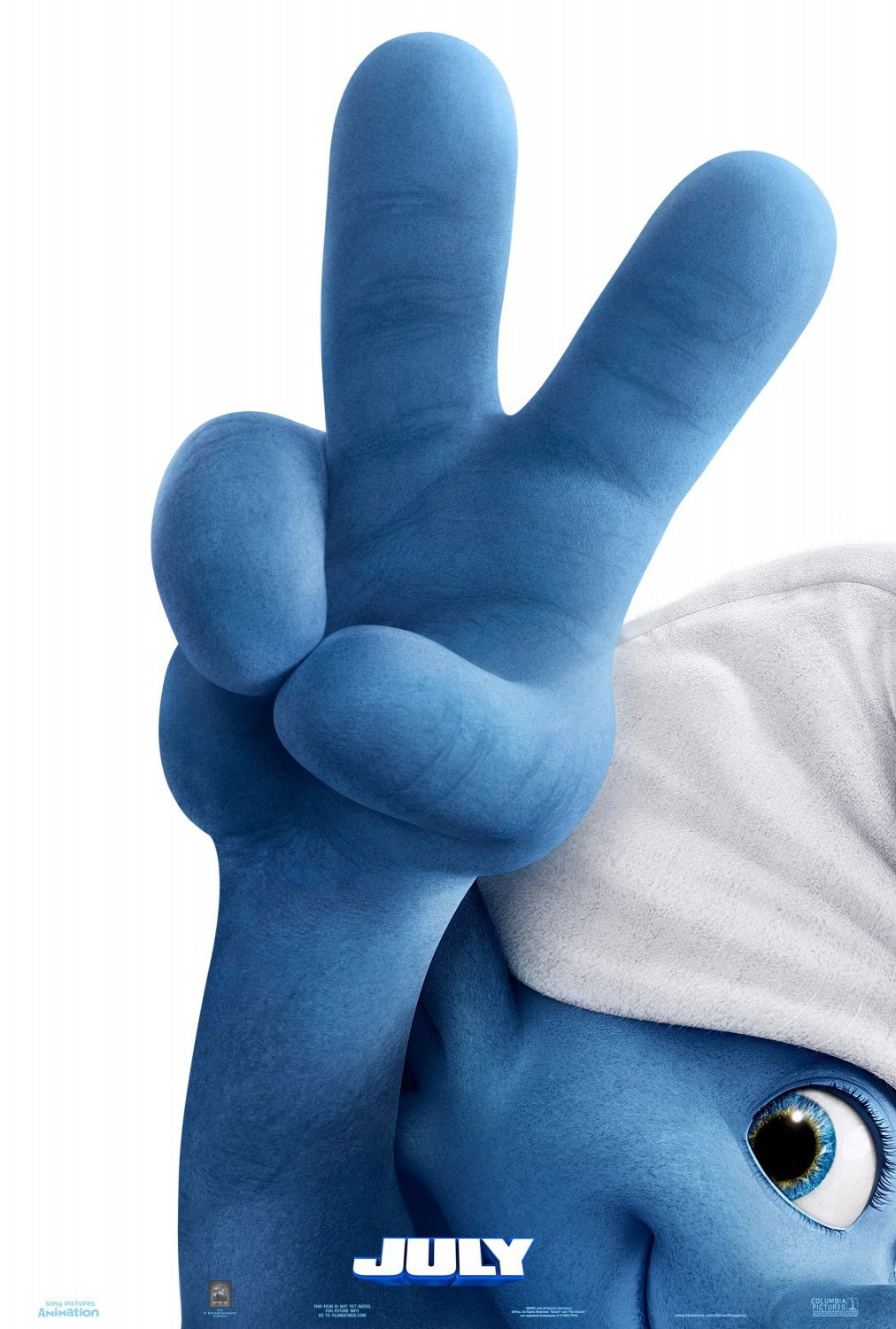 The Smurfs 2 Teaser Poster
