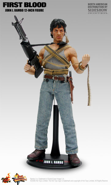 Rambo-first-blood-statue