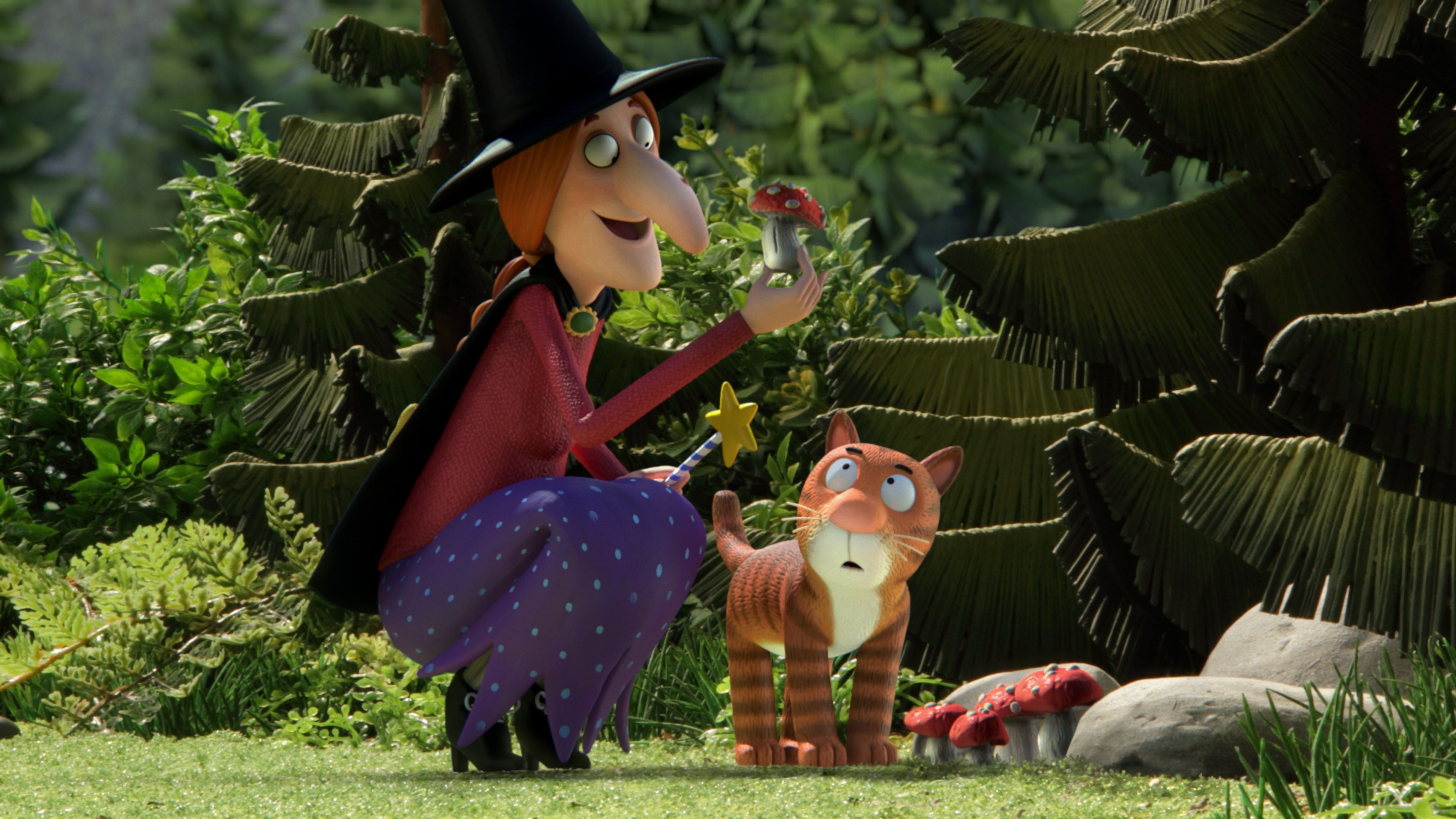 Exclusive Gallery From Bbc Ones Christmas Animation Room On The Broom . Part 75