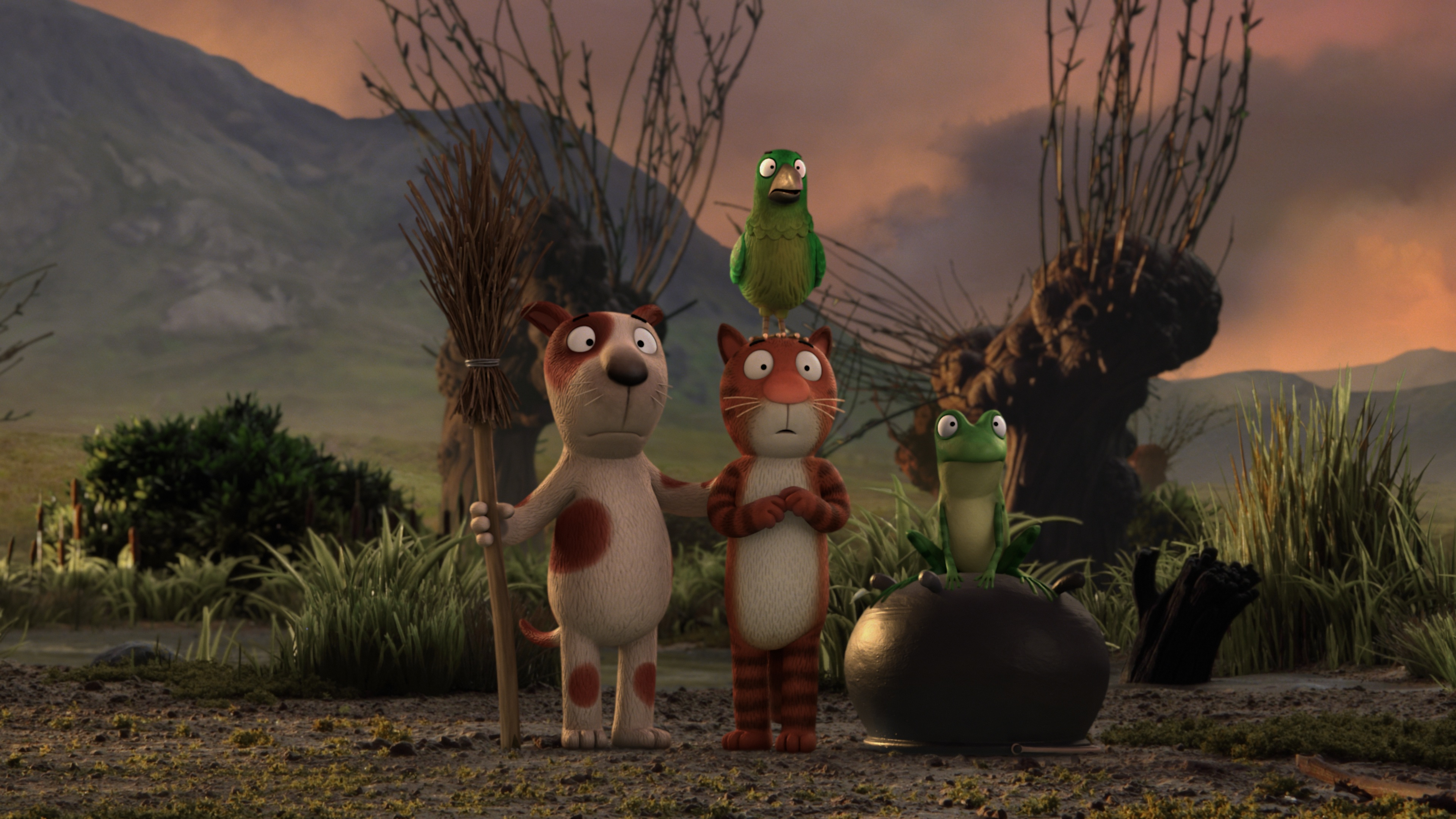 Exclusive Gallery From Bbc Ones Christmas Animation Room On The Broom . Part 73