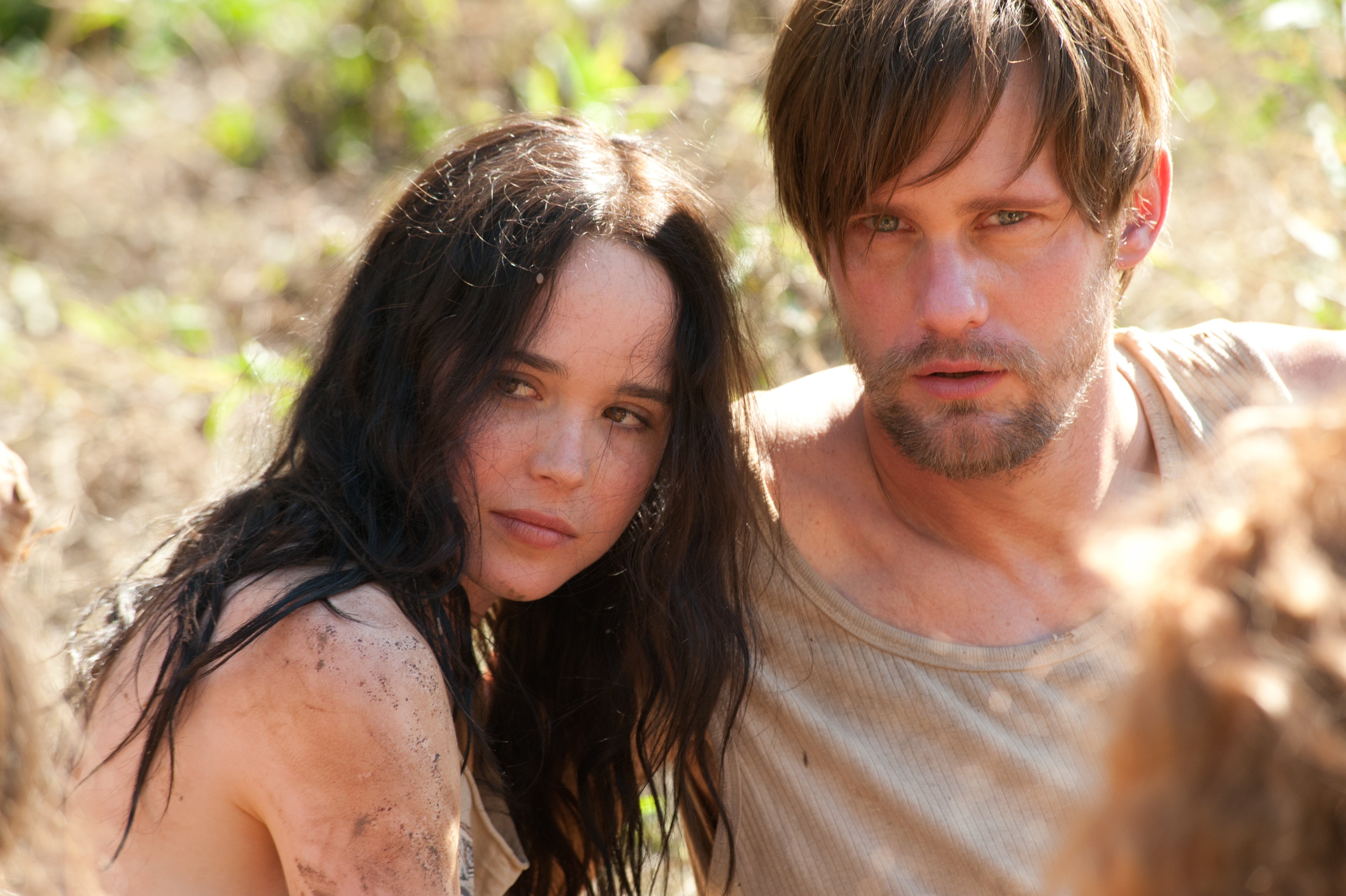 Ellen Page and Alexander Skarsgård in The East - HeyUGuys