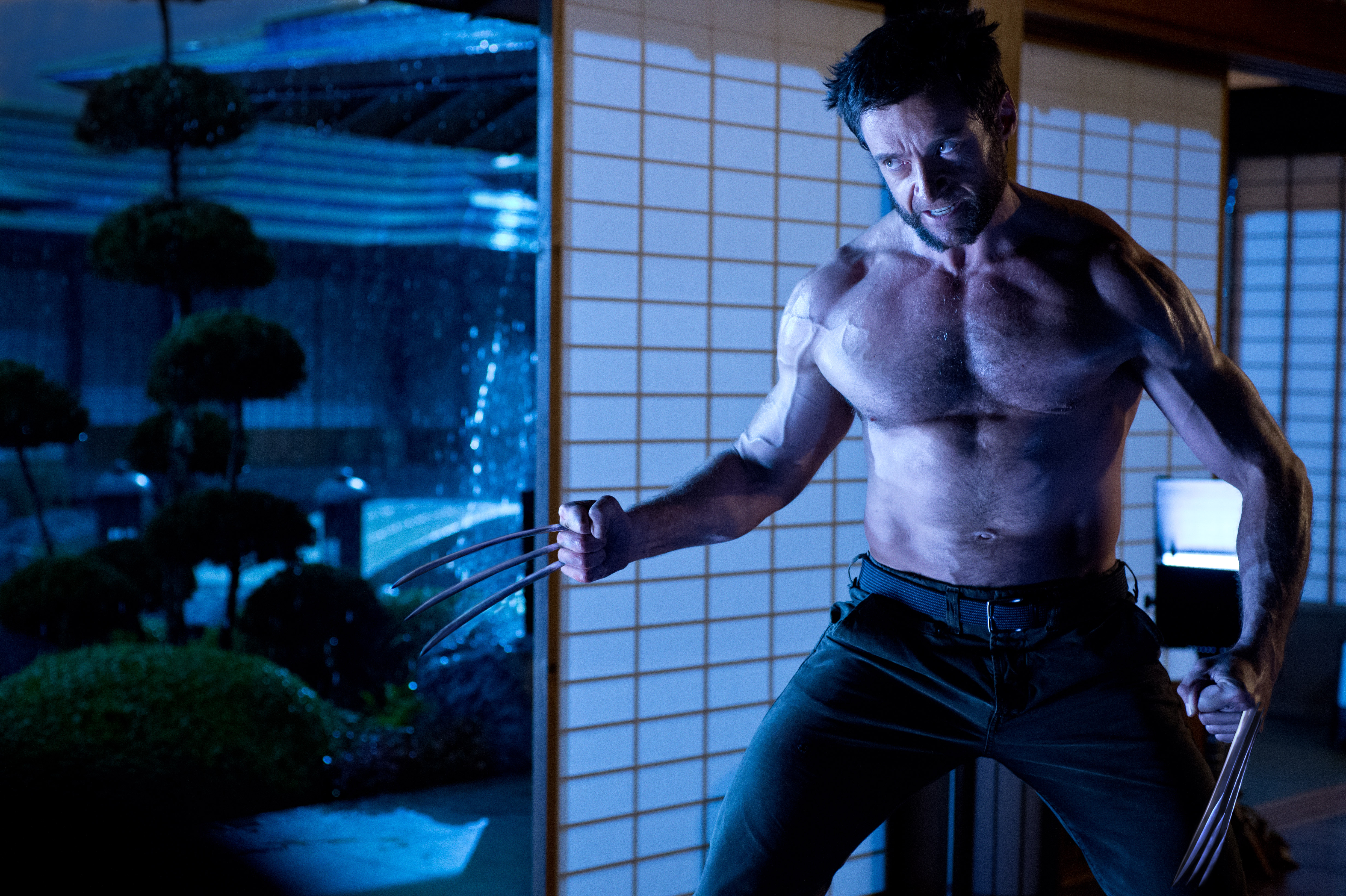 The Wolverine 2013: New Image Of Hugh Jackman As THE WOLVERINE Now In Hi-Res