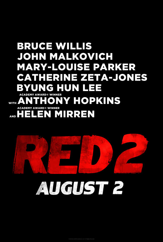 Red 2 Movie Poster RED 2 Teaser Trailer &...