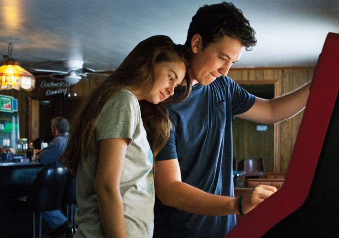 Shailene-Woodley-and-Miles-Teller-in-The-Spectacular-Now