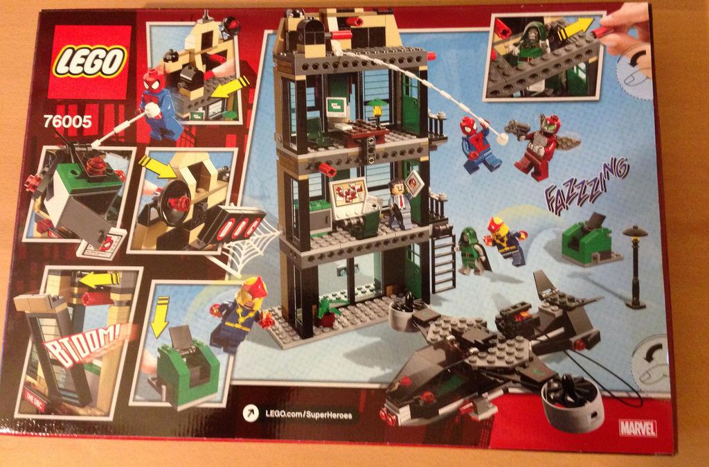 Lego Spider-Man - HeyUGuys