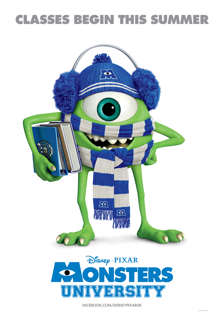 Monsters university poster heyuguys monsters university poster voltagebd Gallery