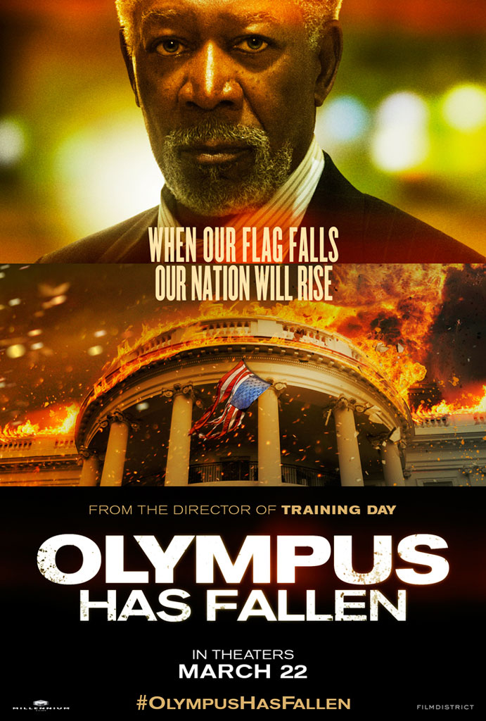 Morgan Poster Poster – Morgan Freeman
