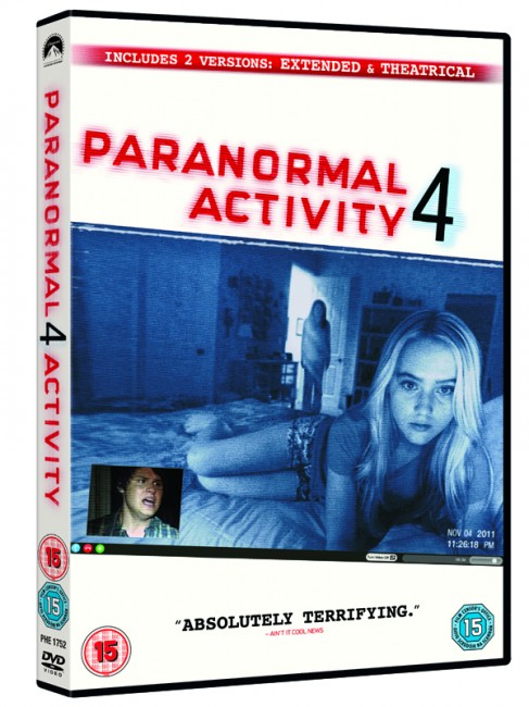 Paranormal Activity 4 EXTENDED 2012 PAL MULTi [DVD-R] [MULTI]