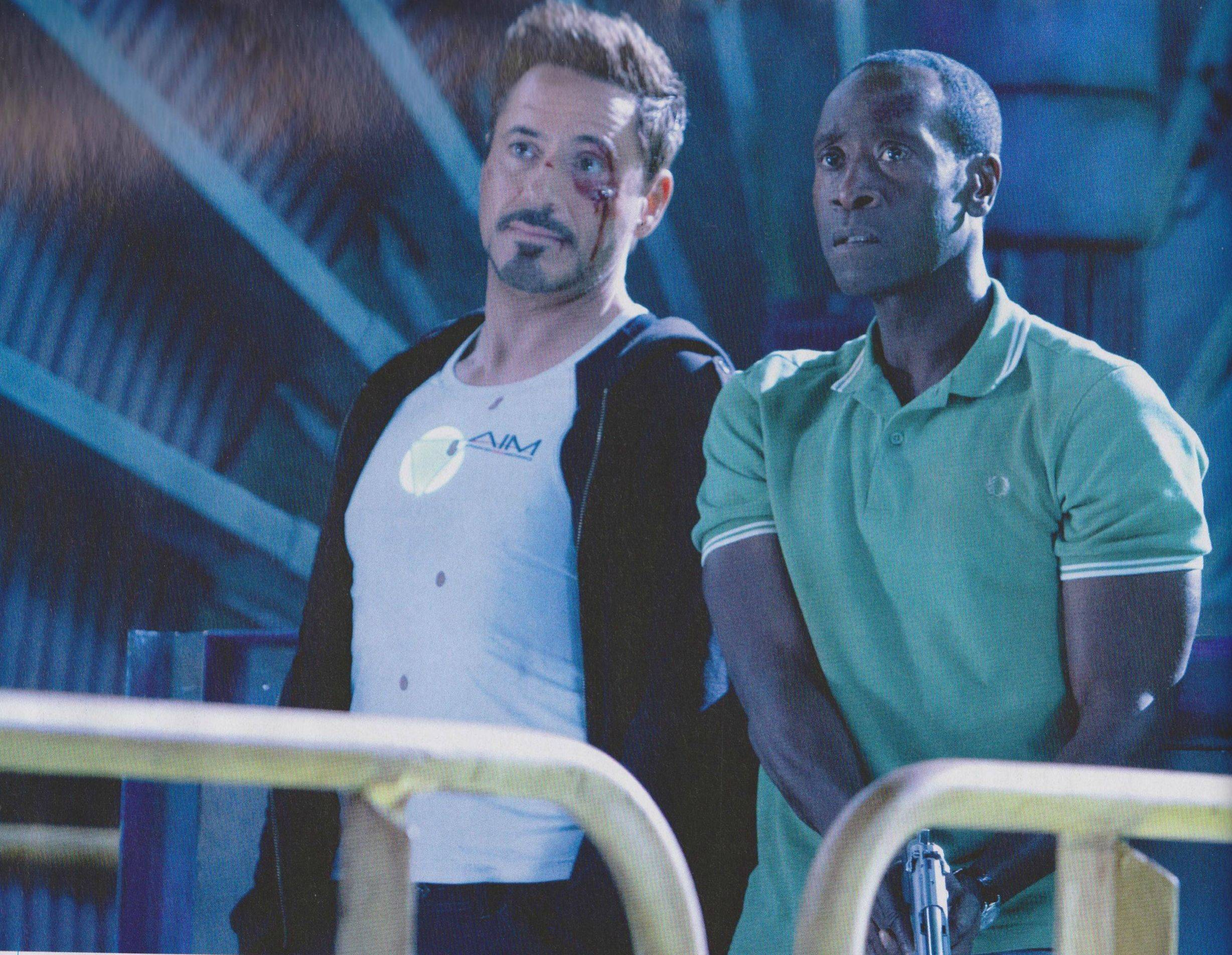 Robert Downey  Jr  and Don Cheadle in Iron Man 3Don Cheadle Iron Man 3