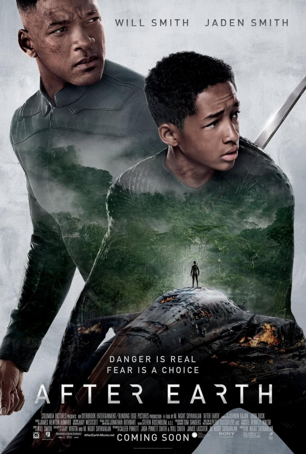 After Earth International Poster Heyuguys