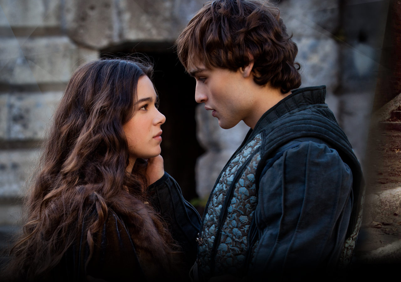 Hailee Steinfeld and Douglas Booth in Romeo and Juliet ...