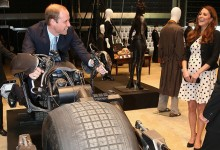 Prince William on Batbike