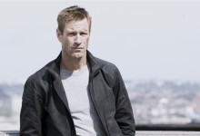 Aaron Eckhart in The Expatriate