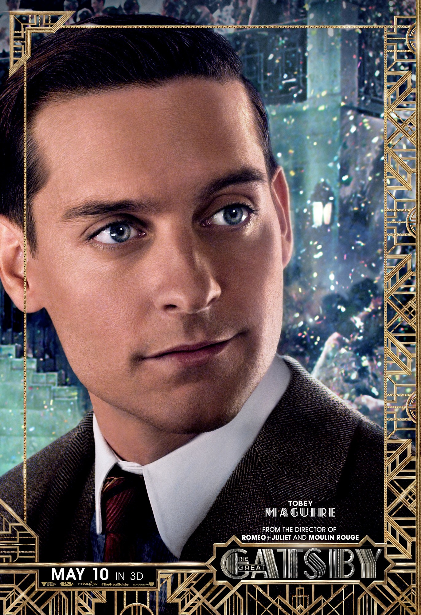 The Great Gatsby Character Poster - Tobey Maguire - HeyUGuys