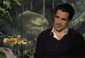 Anytime you get a chance to talk to Colin Farrell, you take it. So