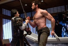 Hiroyuki-Sanada-and-Hugh-Jackman-on-set-of-The-Wolverine