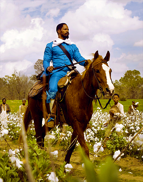 django unchained on a horse   heyuguys