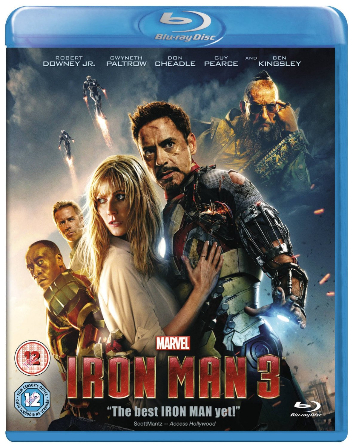 Iron man 3 blu ray dvd special features revealed - Halloween hipercor ...