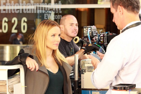 Kristen-Bell-on-set-of-the-Veronica-Mars-Movie