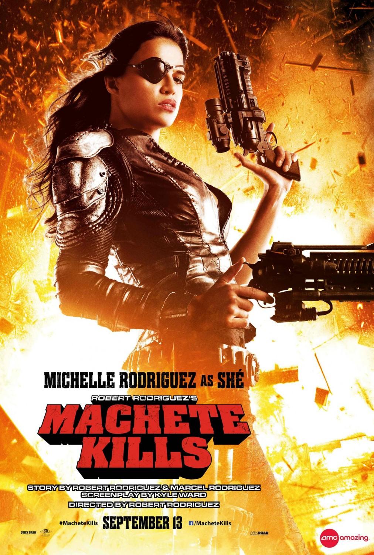 Machete-Kills-Character-Poster-Michelle-Rodriguez