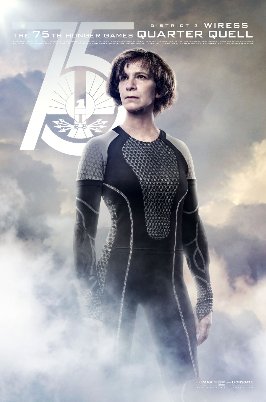 The Hunger Games: Catching Fire Character Posters ...