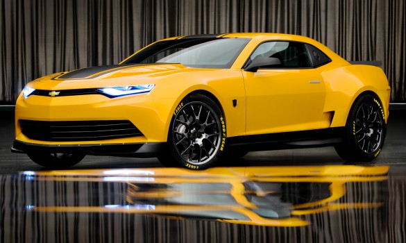 Transformers 4: New Look at Bumblebee's 2014 Concept Camaro