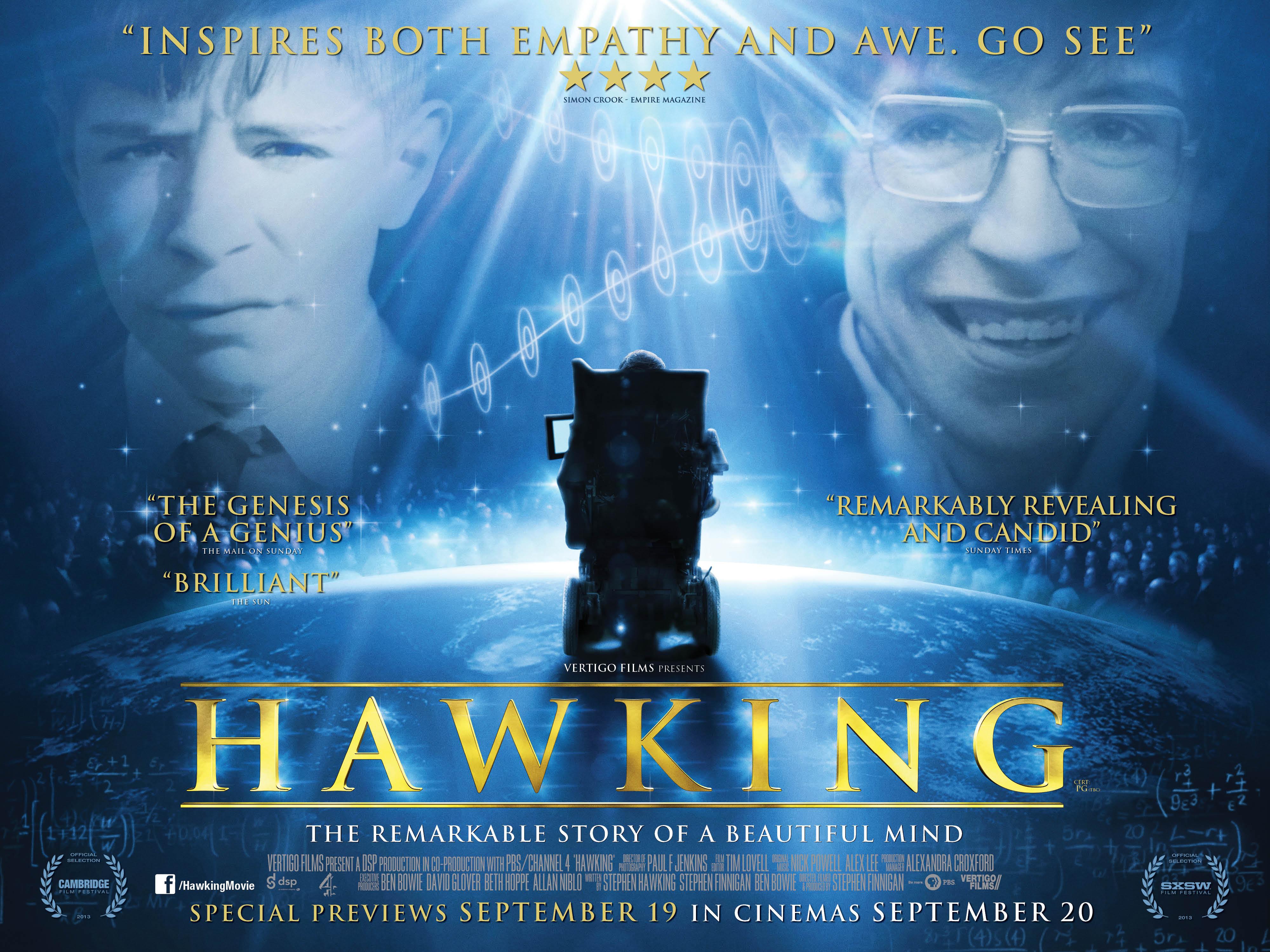 steven hawkings film