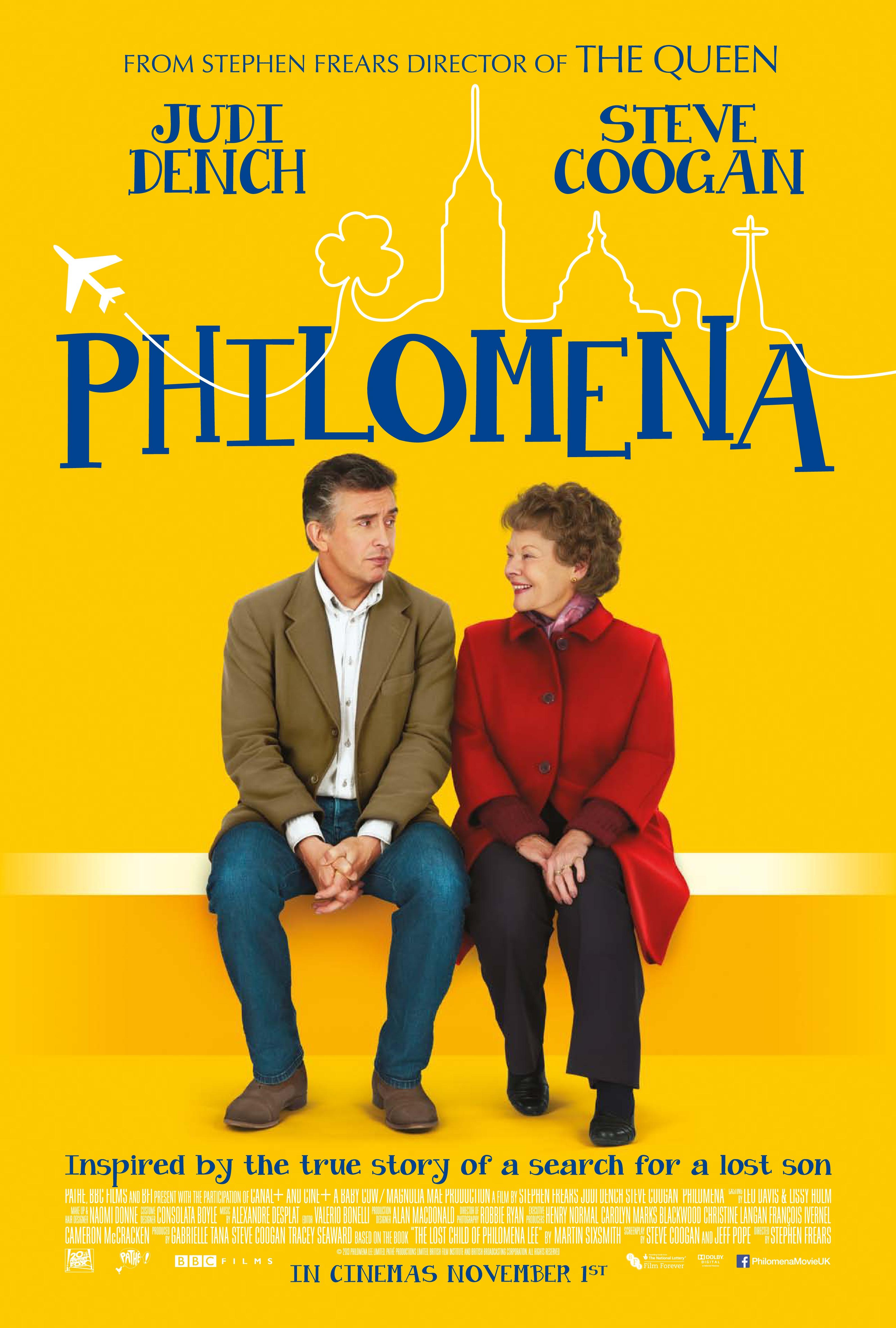 Philomena Poster - HeyUGuys